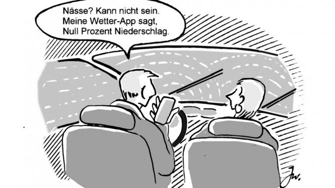 Ratgeber: Wann ist eine Fahrbahn nass? © spothits/Goslar Institut