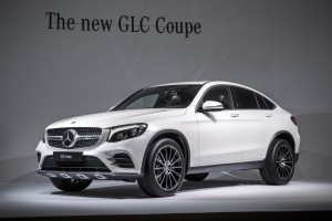 New York 2016: Weltpremiere für Mercedes-Benz GLC Coupé. © spothits/Daimler