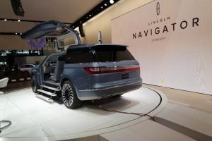 New York 2016: Lincoln Navigator Concept – Geht's noch? © spothits/Lincoln Navigator Concept.
