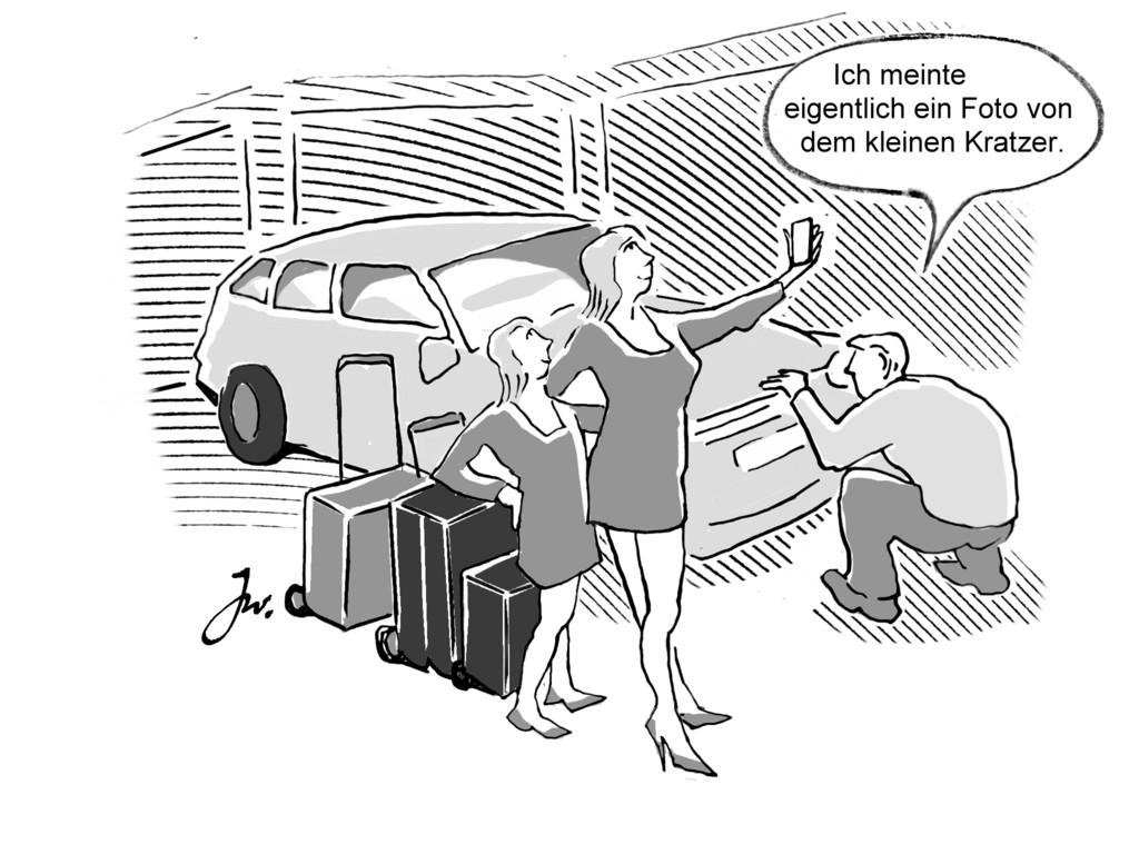 Ratgeber: Mietwagen bei Anmietung überprüfen. © spothits/Goslar Institut