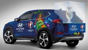 "Europapokal reist im ""Trophy Train"" durch Frankreich. © spothits/Hyundai"
