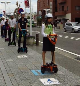 Toyota testet Winglet in Tokio. © spothits/Toyota