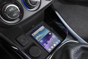 Wireless Charging jetzt auch im Opel Adam. © spothits/Opel