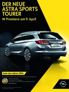 Opel Astra Sports Tourer kommt zum Händler. © spothits/Opel