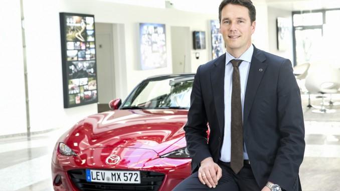 Kaplan leitet Mazda . © spothits/Mazda