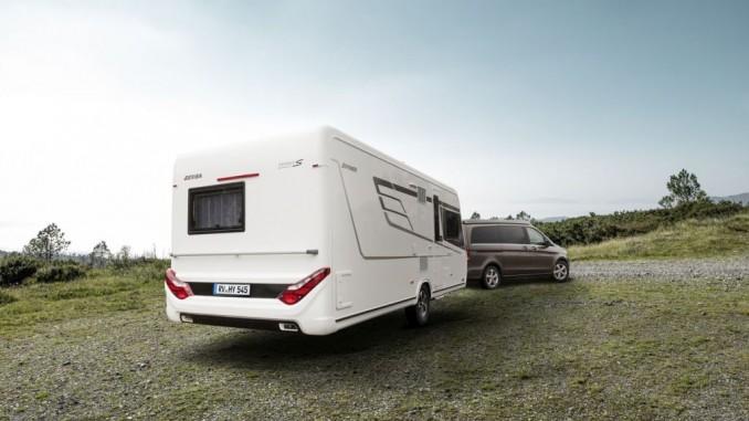 Hymer Eriba Nova S: Neues Caravan-Topmodell. © spothits/Hymer