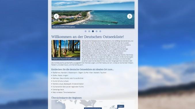 Neue Webseite für deutsche Ostseeküste. © spothits/Verband Mecklenburgischer Ostseebäder e. V.