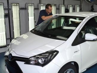 Toyota hält Vorjahresniveau. © spothits/Produktion des Toyota Yaris./Foto: Auto-Medienportal.Net/Toyota