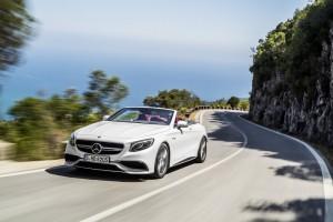 """""""Design Trophy"""": Mercedes-Benz S-Klasse Cabrio ist das schönste Auto. © spothits/Foto: Auto-Medienportal.Net/Daimler"""