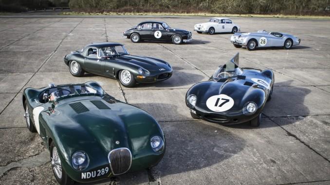 Techno Classica 2016: Klassische Briten. © spothits/Klassische Jaguar. Foto: Jaguar Land Rover