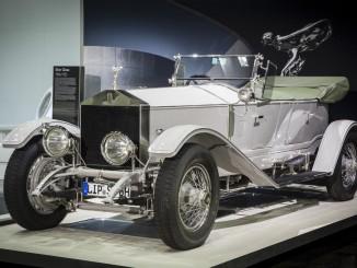 Techno Classica: Rolls-Royce stellt den Ghost in den Mittelpunkt. © spothits/Rolls-Royce