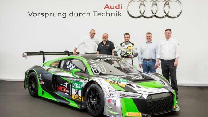 Audi liefert fünfzigsten R8 LMS aus. © spothits/Foto: Audi