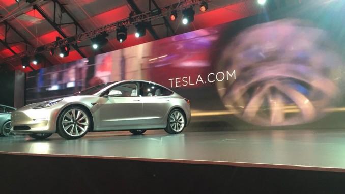 Tesla Model 3: Das Kultauto schlechthin. © spothits/Tesla Model 3./Foto: Hersteller