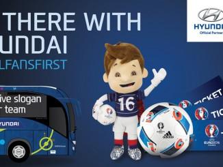 Hyundai sucht Teambus-Slogans für Fußball-Europameisterschaft. © spothits/Foto: Hyundai