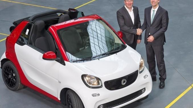 Siebert leitet Smart-Werk Hambach. © spothits/Foto: Daimler