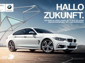 Hallo Zukunft – BMW-Markenkampagne zum Jubiläum angelaufen. © spothits/Hallo Zukunft-Kampagne. Foto: Foto: BMW