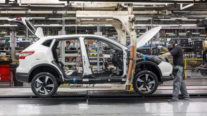 Nissan baut Qashqai-Kapazitäten aus. © spothits/Produktion des Nissan Qashqai im Werk Sunderland. Foto: Nissan