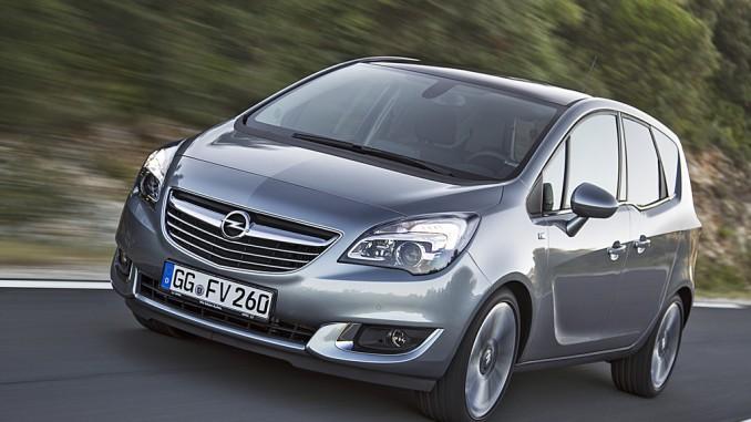 Opel verkaufte so viele Autos wie seit fünf Jahren nicht mehr. © spothits/Opel Meriva. Foto: Opel