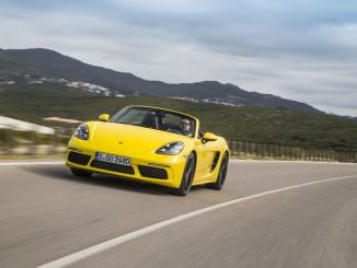 Porsche 718 Boxster: 718 Lächeln im Gesicht. © spothits/Porsche 718 Boxster S. / Foto: Porsche