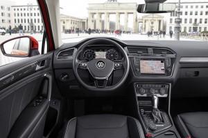 Volkswagen Tiguan: Mehr Touareg für den Fahrer. © spothits/Volkswagen Tiguan. Foto: Auto-Medienportal.Net/Busse