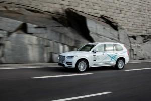 Volvo will autonomes Fahren in China testen. © spothits/Selbstfahrender Testwagen Volvo XC90 Drive Me. Foto: Volvo