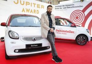 "Smart fährt beim ""Jupiter Award"" vor. © spothits/Smart beim ""Jupiter Award 2016"". Foto: Daimler"