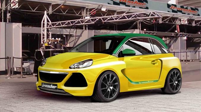 Irmscher-Konzeptfahrzeug auf Basis des Opel Adam. © spothits/Projektfahrzeug von Irmscher auf Basis des Opel Adam S. /Foto: Imrscher