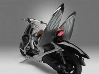 """Yamaha stellt """"durchsichtigen"""" Roller vor. © spothits/Yamaha 04 Gen. /Foto: Yamaha"""