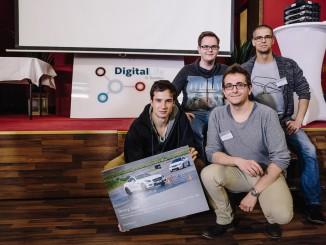Studenten entwickeln beim Daimler-Hackathon neue Ideen. © spothits/Daimler-Hackathon in Stuttgart. Foto: Daimler