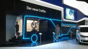 Bauma 2016: VW zeigt Crafter-Details per Datenbrille. © spothits/Volkswagen auf der Bauma./Foto: Volkswagen