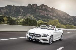 Mercedes-Benz S-Klasse Cabriolet: Das Traumschiff – jetzt wieder mit Sonnendeck. © spothits/Mercedes-Benz S500 Cabriolet./Foto: Daimler
