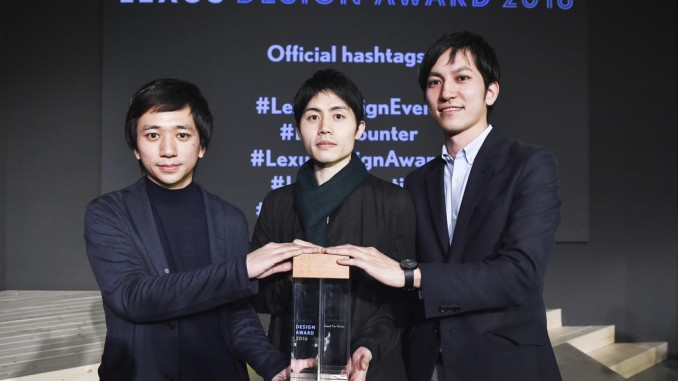 """""""Lexus Design Award"""" für Verpackungen aus Algen. © spothits/Die japanische Design-Trio AMAM gewann den """"Lexus Design Award 2016""""./Foto: Lexus"""