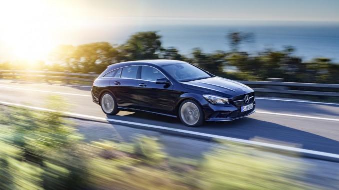 Mercedes-Benz CLA Coupé und Shooting Brake bestellbar. © spothits/Mercedes-Benz CLA Shooting Brake und CLA Coupé./Foto: Daimler
