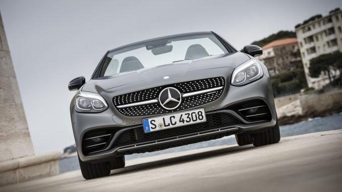Mercedes SLC: Ein neuer Buchstabe für den Klassiker. © spothits/Mercedes-Benz SLC 300./Foto: Daimler