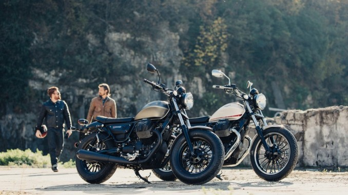 Moto Guzzi stellt V9 in den Mittelpunkt. © spothits/Moto Guzzi V9./Foto: Piaggio