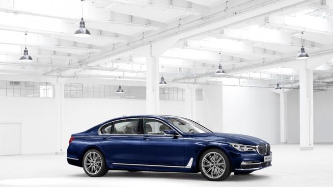 BMW 7er im Zeichen der 100. © spothits/BMW 7er The next 100 Years./Foto: BMW