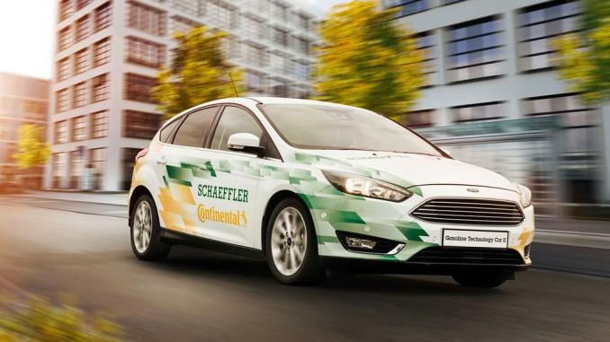 48-Volt-Mildhybrid verbraucht ein Viertel weniger Kraftstoff. © spothits/Foto: Schaeffler