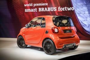 Peking 2016: Mehr Power für den Smart. © spothits/Smart Brabus Fortwo./Foto: Hersteller