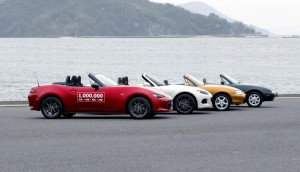 Einmillionster Mazda MX-5 rollt vom Band. © spothits/Der einmillionste Mazda MX-5./Foto: Mazda