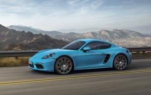Peking 2016: Porsche Cayman verspricht den Chinesen Glück © spothits/Porsche 718 Cayman und Cayman S (r)./Foto: Porsche
