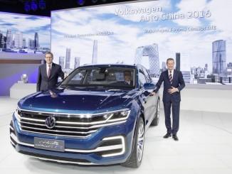 Peking 2016: VW zeigt Flagge. © spothits/Volkswagen T-Prime Concept GTE./Foto: Volkswagen