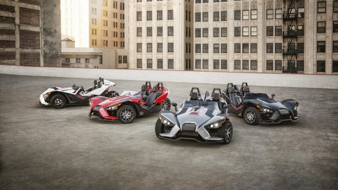 Polaris Slingshot als Limited Edition. © spothits/Polaris Slingshot SL und LE (außen)./Foto: Polaris