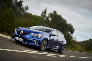 Renault Megane und Talisman mit Allrad-Lenkung. © spothits/Renault