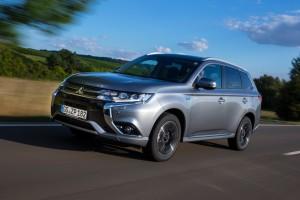 Test Mitsubishi Outlander: Das SUV für die Steckdose. © spothits/Mitsubishi