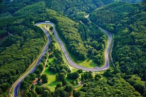 Grüne Hölle jetzt fest in russischer Hand. © spothits/Nürburgring: Die grüne Hölle./Foto: Daimler