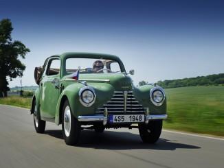 Skoda-Klassiker in Wiesbaden mit am Start. © spothits/Auto-Medienportal.Net/Skoda