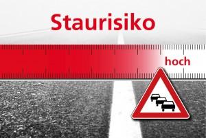 Stauprognose: Pfingsten wird's eng. © spothits/Staurisikoeinschätzung des ACE für das kommende Wochenende./Foto: Auto-Medienportal.Net/ACE