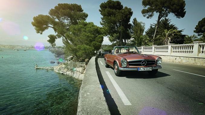 """Classic Car Travel"" bietet Oldtimerreisen im Mercedes-Benz SL. © spothits/Mercedes-Benz SL (1963–1971)./Foto: Daimler"