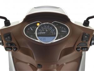 Piaggio setzt beim Medley 125 auf Komfort. © spothits/Piaggio Medley 125 iGet ABS./Foto: Piaggio