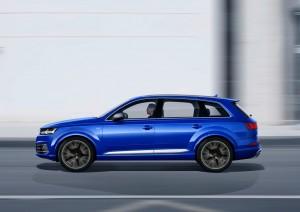 Audi SQ7 4.0 TDI: Grenzenloses Drehmoment © spothits/Audi SQ7 4.0 TDI Quattro Tiptronic./Foto: Hersteller